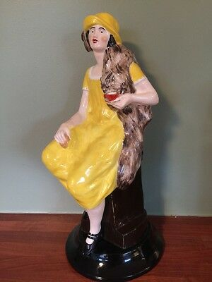 """Very Rare"" SHELLEY ""ADVERTISING GIRL"" Figurine"