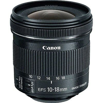 Canon EF-S 10-18mm f/4.5-5.6 IS STM Lens (Retail Box)