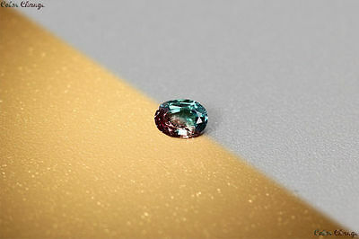 "0.115 Ct Unique 100% Nr"" Dancing Color Change Alexandrite Gemstone Aaa Oval !!!"