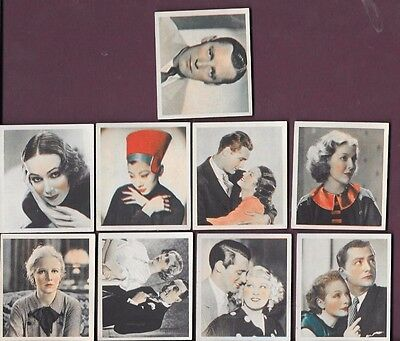 Philips Shots From The Films 9 Cards