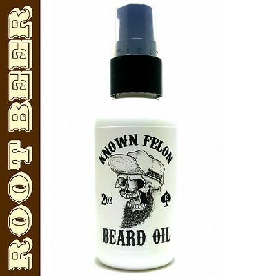 Known Felon 2oz Root Beer Beard Oil