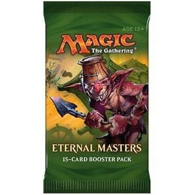 Magic The Gathering Eternal Masters 15 Booster Card Pack Trading Cards New