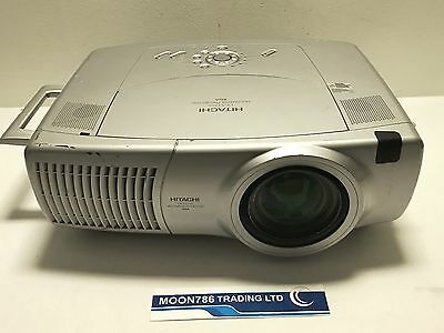 Hitachi Cp-X1250 Xga Multimedia Projector Used 76 Lamp Hours Good Image -Ref:998