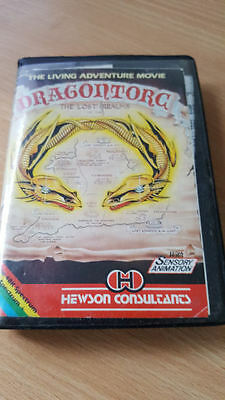 Sinclair ZX Spectrum cassette Dragontorc of Avalon by Hewson Consultants