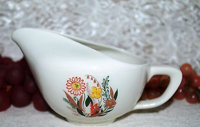 Taylor Smith Taylor Beautiful 1950's Flowered Nassau Conversation Creamer