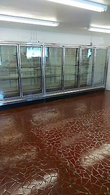 7 Door Glass Freezer