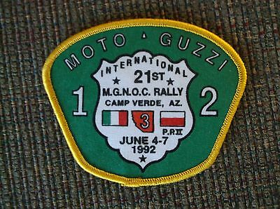 Moto Guzzi National Owners Club Rally Patch AZ 1992
