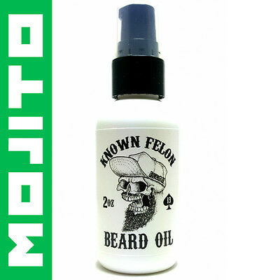 Known Felon 2oz Mojito Beard Oil All Natural