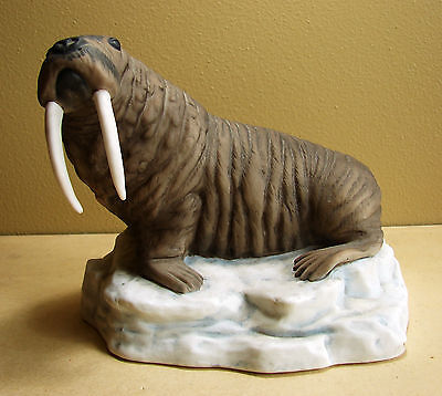 Forever Nature Limited Edition Walrus by Fred Aman 1978 Enesco #E1429