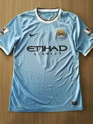 Match Worn Manchester City Shirt Alvaro Negredo Matchworn Sevilla Middlesbrough