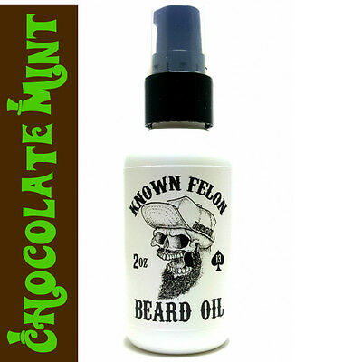 Known Felon 2oz Chocolate Mint Beard Oil
