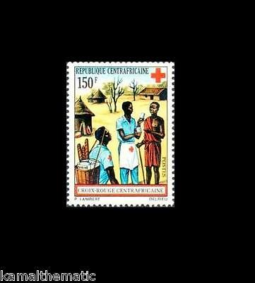 Central African Rebuplic MNH, Red Cross, First Aid, Medicine Help