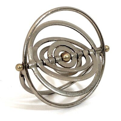 """6"""" Six Ring Armillary Sphere Made in India Indoor Decoration"""