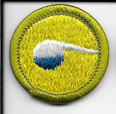 Boy Scout Chemistry Merit Badge Type H Clear White Plastic