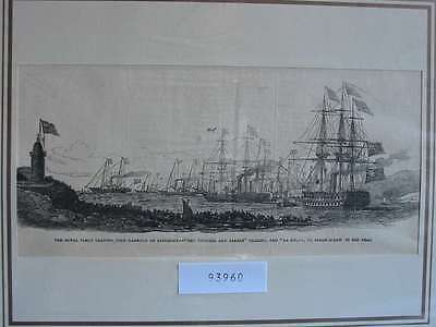 93960-Seefahrt-Schiffe-Ship-Victoria and Albert Cork-T Holzstich-Wood engraving