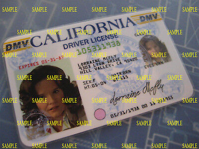 Back to the Future -Lorraine McFly -New 1985 - License - Prop-Cosplay-Novelty -