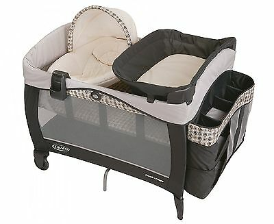 GRACO Pack N Play BABY PLAYARD, BABY PLAY YARD + Napper Elite & BASSINET, Vance