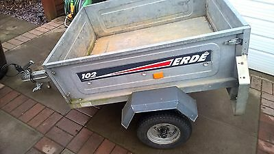 Erde 102 car camping trailer 4x3