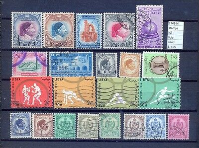 Stamps  Lot Lybia Used   (L14914)