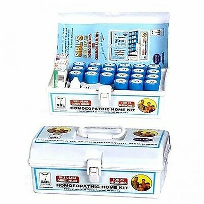 SBL Homeopathic Home Kit Consists Of 25 Remedies Homoeopathic Medicines