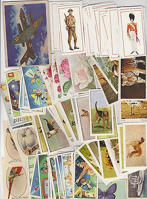 Job Lot Of Over 1000 Trade And Cigarette Cards.