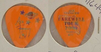 Kiss - Ace Frehley Farewell Tour Tampa Concert Guitar Pick