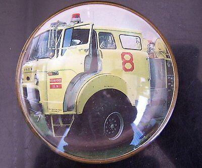 United States Air Force Domestic Ford/Pearce Pumper Glass Paperweight