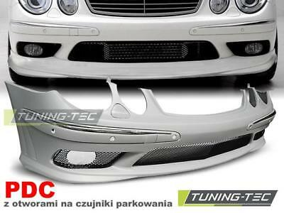 Paraurti Anteriore Mercedes W211 02-06 Amg Style Pdc