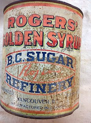 Rare vintage Rogers Golden Syrup can 5 LBS