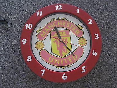 manchester united football wall clock