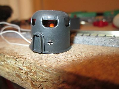 WW2, German Military Pill Box's x 5, Lighted, Personnel.