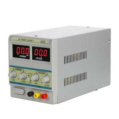 Variable Adjustable Lab DC Bench Power Supply 0-30V 0-5A WEP 305D From UK New