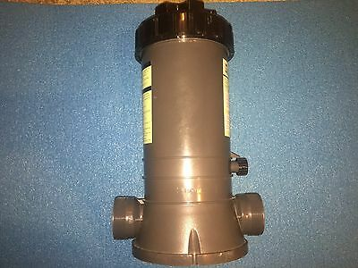 Inground In-line Automatic Swimming Pool Chlorinator Chemical Feeder