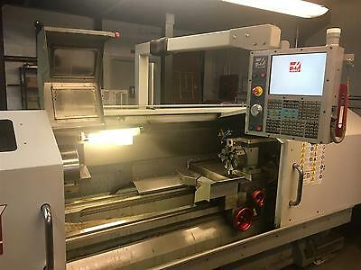 """Used Haas TL-3 CNC Manual Lathe Turning Center Turret 20x60 Tailstock 12"""" 2008"""