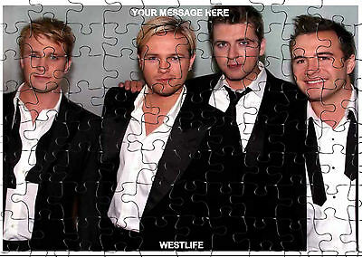 WESTLIFE  JIGSAW PUZZLE A4 120 PIECE Great Gift Idea  Fee PP