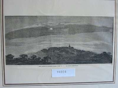 94008-Astronomie-Astronomy-Meteor seen near Hampstead-T Holzstich-Wood engraving