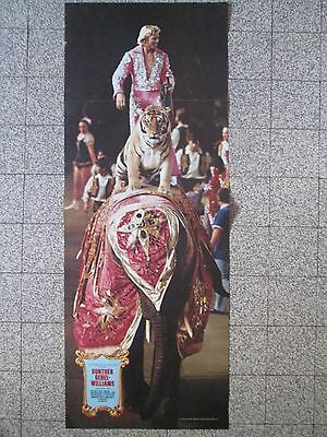 Affiche RINGLING Bros and BARNUM 1974