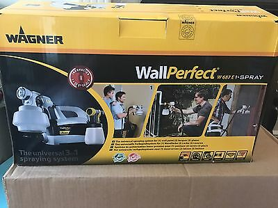 Wagner Wall Perfect W 687 E Paint Sprayer (New)