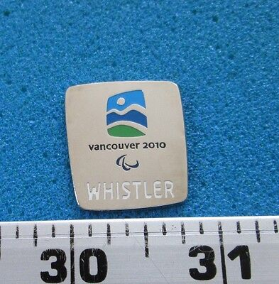 Whistler  Vancouver 2010 Olympic Paralympic Winter Games  Pin # Ol- 277