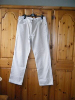 Mens Next Loose Fit Corduroy Jeans Size 38 R