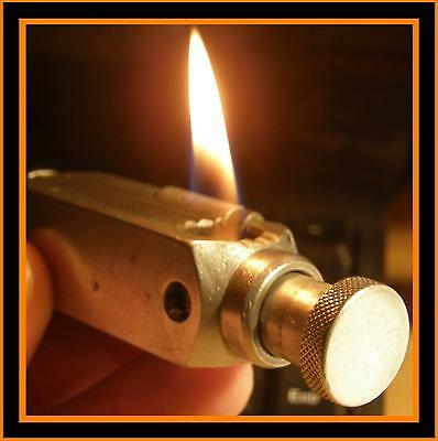 Briquet essence Flamidor Flambeau version 1 - RARE - vintage lighter Feuerzeug