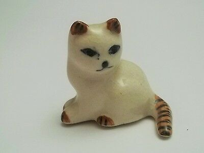 chat miniature en porcelaine,collection,animal,, cat, kat, poes   B2-16