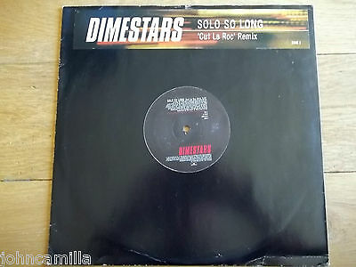 "Dimestars - Solo So Long 12"" Record / Vinyl - Polydor - Dsuk 3"