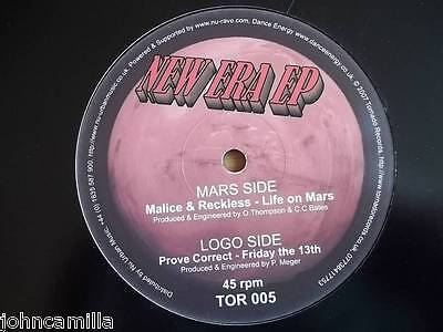 "Malice & Reckless - Life On Mars / Prove Correct - Friday The 13Th 12"" - Tor 005"