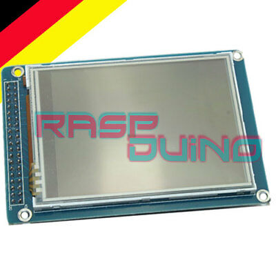 "RaspDuino TFT 3,2"" Display Touch Panel PCB Adapter SD Card Socket QVT320 Arduino"