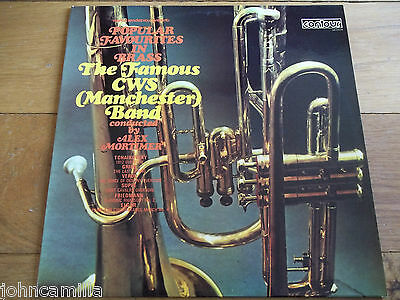 The Famous Cws (Manchester) Band - Popular Favourites In Brass - Lp - 6870504