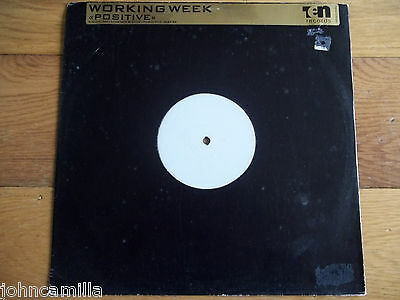 "Working Week - Positive 12"" Record / Vinyl - 10 Records - Tenx 340 Dj"