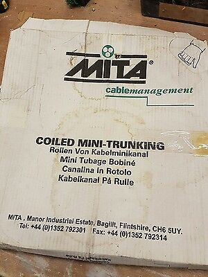 Mita coiled mini trunking 15 m