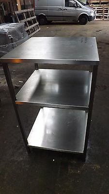 Commercial All Stainless Steel Prep Table/shelving Unit
