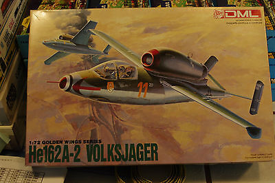 Dragon  1/72 Scale   He162A-2 Volksjager  # 2    Kit5001